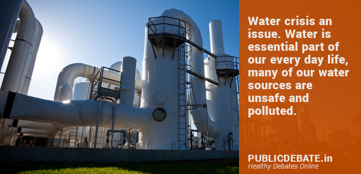 Water Crisis A Global Issue