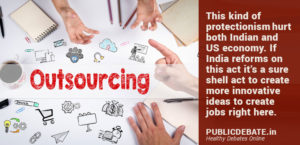 Anti-outsourcing reform India explore innovate