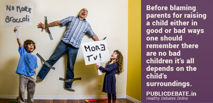 Are bad Children out of bad Parenting