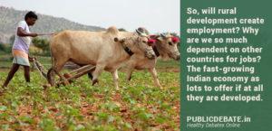 Rural Development Help Solve Unemployment