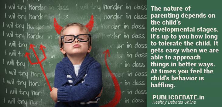 child's behavioral problems