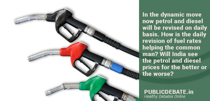 Does daily revision of fuel prices help the common man?