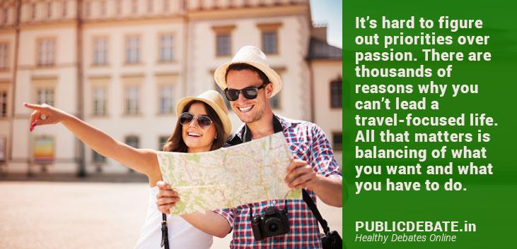 Travel-focused life