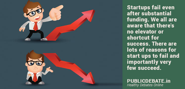 Why do startups fail even after substantial funding?
