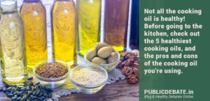 Which cooking oil is good for health
