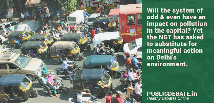 Is odd & even policy only solution for Delhi's air pollution?