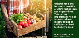 Organic Farming empowers farmers towards better future