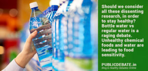 How good is bottled water compared to regular water?