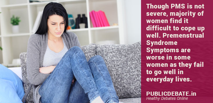 Potential diet to get rid of Premenstrual Syndrome Symptoms