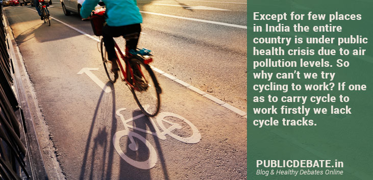 Are we Urban Indian ready to take cycle to work?