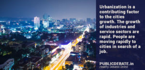 Is urbanization cause for the higher cost of living?